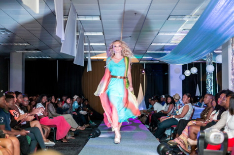 Students had a ball at Fashion Forward's Unparalleled Fashion Show despite technical difficulties