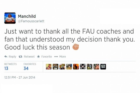 Highly touted running back Jordan Scarlett de-commits from FAU