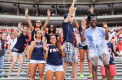 [Kiki Baxter | Managing Editor] From 90 degree heat to rain and lightning, FAU students braved the volatile weather, cheering on the Owls until the game was called in the fourth quarter.
