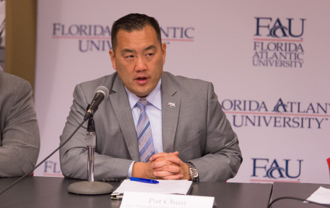 Athletic Director Patrick Chun addresses Hurricane Matthew impact on athletics (Updates)
