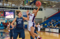 Shaneese Bailey attempts a layup in the second half of FAU's  72-44 loss to Old Dominion on Jan. 30. Photo by Max Jackson