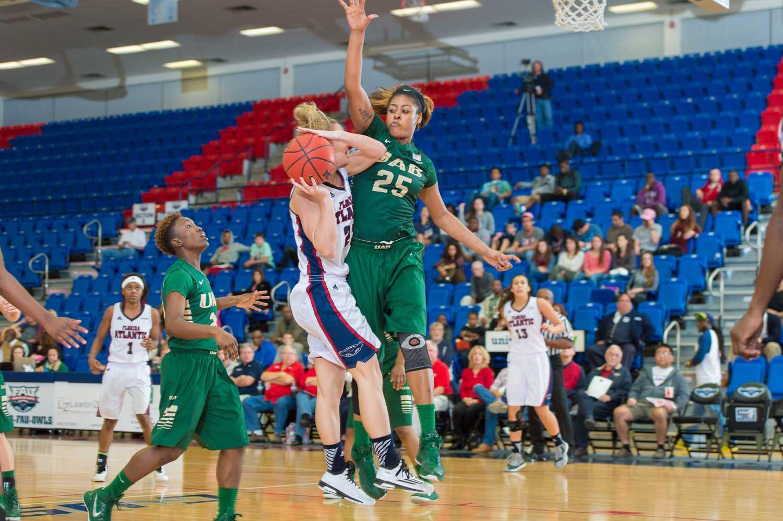 University Press : Gallery: FAU Women's Basketball defeats