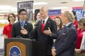 Florida Gov. Rick Scott visited FAU Boca campus on Thursday,  Feb. 12.  Idalis Streat | Contributing Photographer