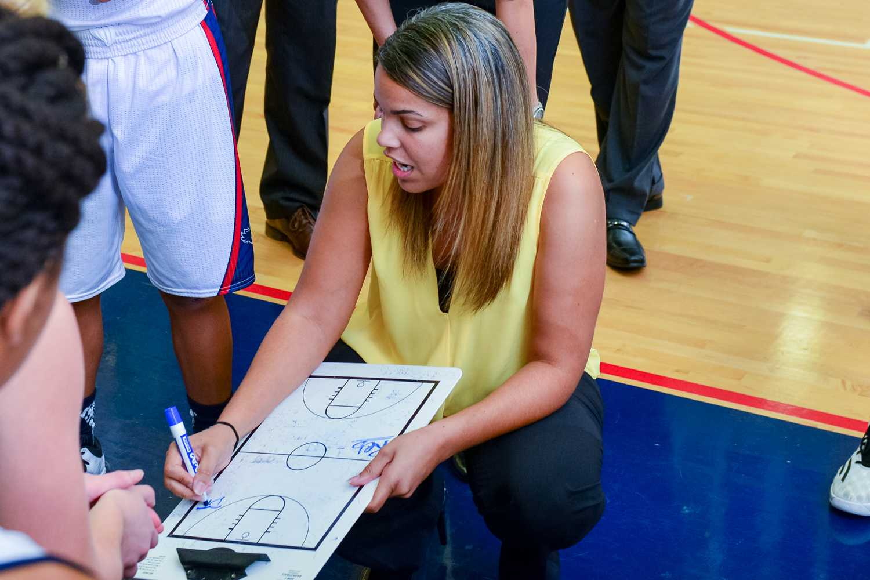 FAU Women's Basketball Coach Kellie Lewis-Jay $169,000 annual salary. Photo by Max Jackson | Photo Editor