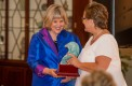 "Elisabeth von Trapp is presented the ""Making Waves Award,"" for making a significant contribution to the arts and education. Max Jackson 