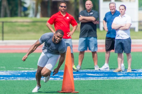 FAU Hosts Pro Day for Graduating Football Seniors
