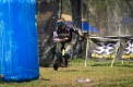 Joe Kruempel (No. 00) makes a run to the next paintball bunker in front of him. Photo courtesy of Rick Applegarth