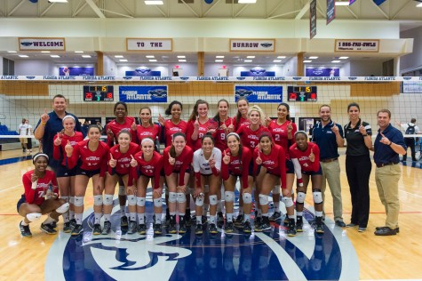 Gallery: Volleyball wins four straight at home during weekend