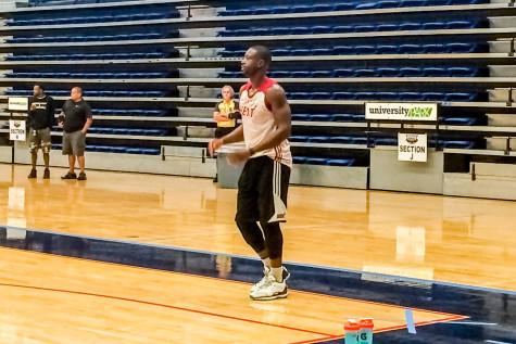 Miami Heat practice at FAU Arena