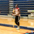 Guard Dwyane Wade prepares to take a shot during Thursday morning practice at FAU Arena. Photo by Ryan Lynch.