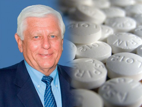 An aspirin a day can keep a heart attack at bay