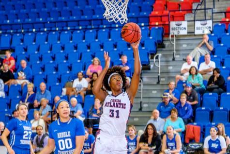 Women's basketball: FAU drops heartbreaker to UTEP in defensive affair