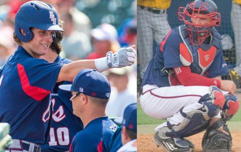 Tyler Frank versus Gunnar Lambert: comparing the numbers behind FAU baseball's catching platoon
