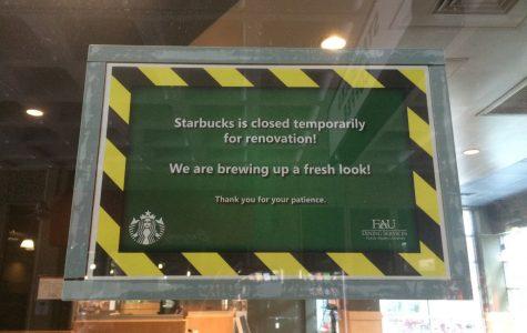 Boca campus Starbucks closed for renovations