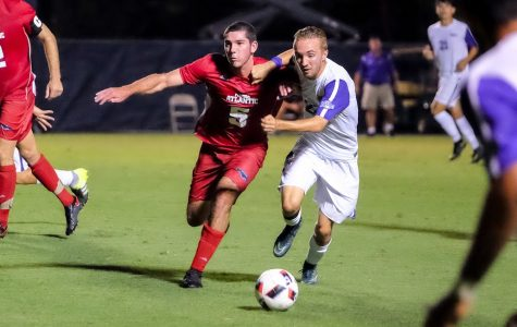 Men's Soccer: Offensive struggles continue in loss to FGCU