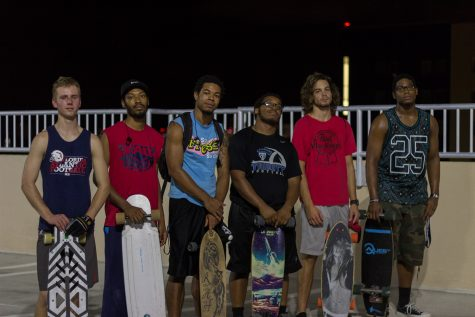 Late-night skaters: what happens when the cars leave the parking garage [Video included]