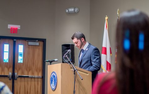 Student Government governor speaks at State of the Campus address