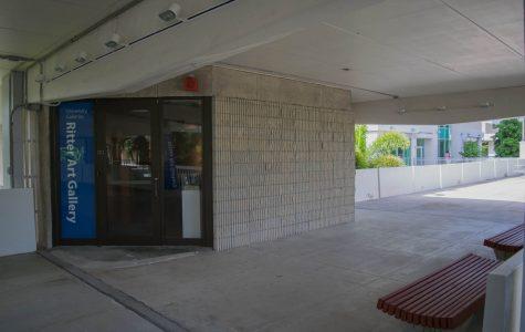 Breezeway renovations affect access to Ritter Art Gallery