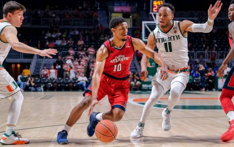 Men's basketball: FAU struggles on the road, suffers 20-point blowout in Miami