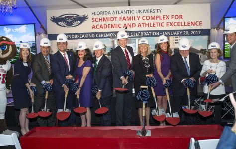 Athletics breaks ground on new athletic and academic center
