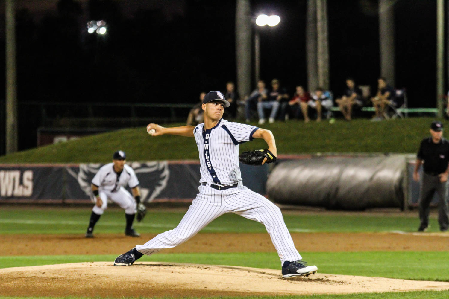 Junior pitcher Alex House  threw his second complete game of the season in his team's win over Marshall on April 14, 2016. Alexander Rodriguez | Contributing Photographer