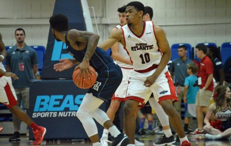 Men's basketball: FAU defeats Southern Miss, now one win away from clinching conference tournament spot