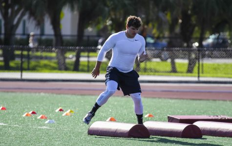 "Football: Former FAU cornerback Cre'Von Leblanc to seniors at pro day: ""Think like you belong"""