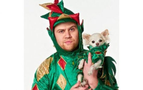 Annual Comedy Show featured a chihuahua, a magic dragon and a fish in a blender