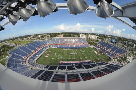 FAU to sell beer  in the football stadium for 2014 season
