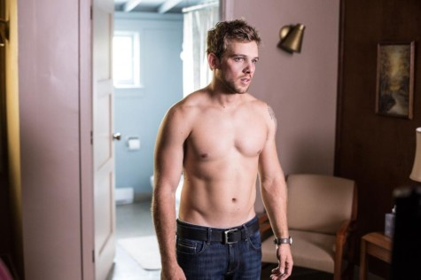 Dylan (Max Thieriot) recovers from an awkward night of drinking. Image courtesy of www.aetv.com.