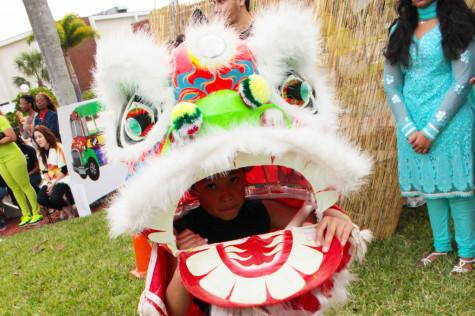 The Chinese Dragons performed at the Diversity Block Party in Davie on March 28 Photo by: Emily Ewald