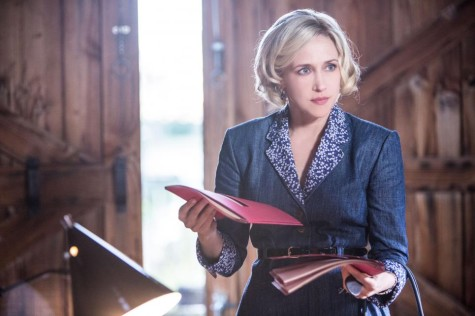 Norma ( Vera Farmiga) may be in over her head with this bypass deal. Image courtesy of www.aetv.com.