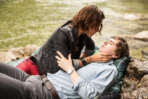 Norman (Freddie Highmore) and Cody (Paloma Kwiatkowski) are a little preoccupied down by the river. Images courtesy of www.aetv.com.