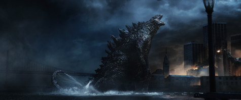 Godzilla lets out a mighty roar. Image courtesy of Warner Bros. Pictures