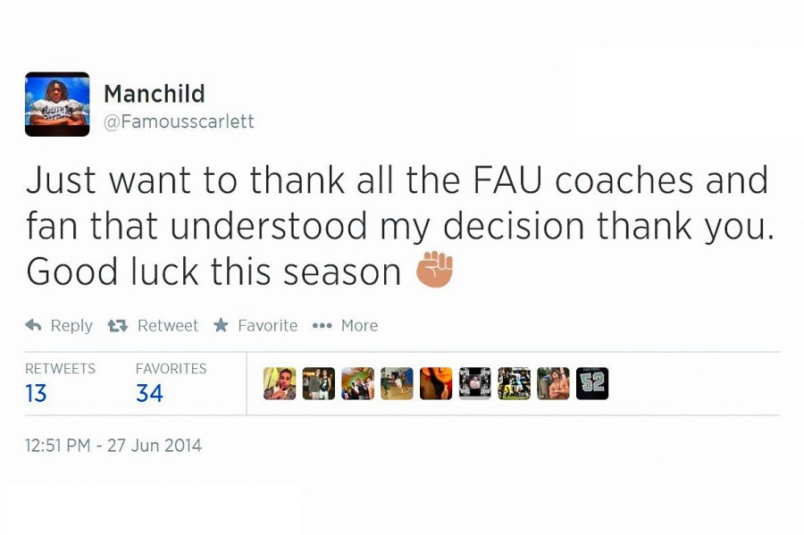 Highly+touted+running+back+Jordan+Scarlett+de-commits+from+FAU