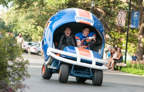"""Jonah Hill and Channing Tatum in """"22 Jump Street."""" Photo by Glen Wilson @ 2013 Columbia Pictures Industries."""
