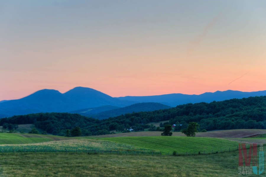 Our very own photo editor, Max Jackson, tours the country to further his photography skills. These are the Blue Ridge Mountains in Virginia. 