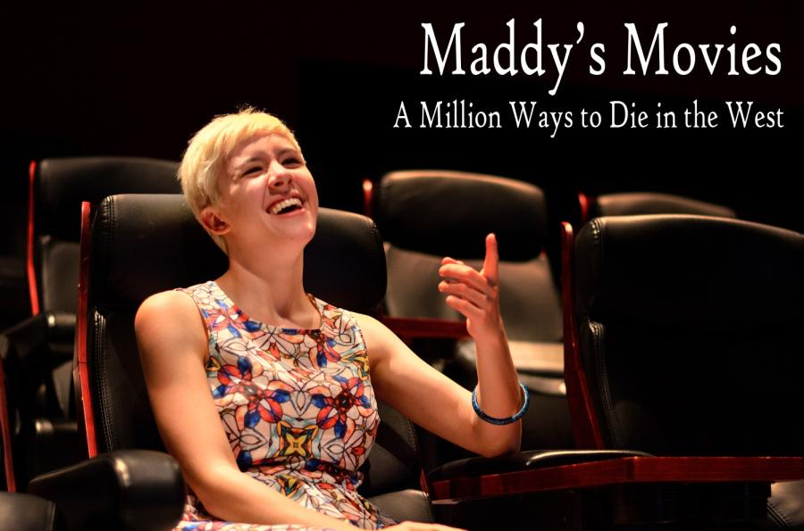 """Maddy's Movies: """"A Million Ways to Die in the West"""" is a bunch of laughs with fart jokes, poop jokes and some actual dying in it"""