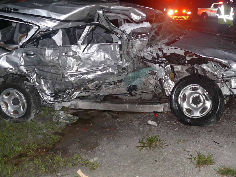 FAU Senior, Gaetan Narcisse was killed Thursday night, June 19, by a drunk driver. 21-year-old Narcisse was only one semester short of graduating with his Bachelor's Degree in Criminal Justice.   Picture by Port St. Lucie Police Department Courtesy of WPTV