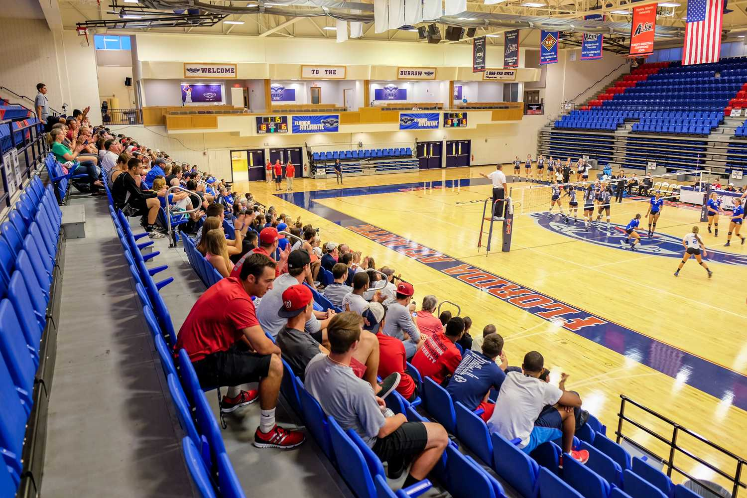 Students and family turned out for FAU's 7pm match against McNeese on Friday, August 29th. Mohammed F Emran | Web Editor