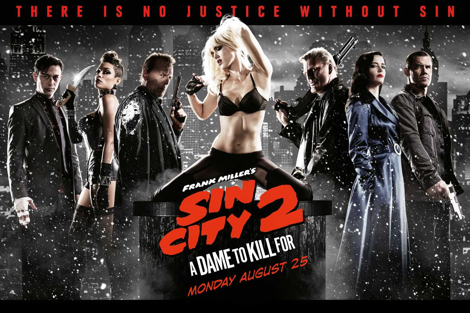 Review Sin City A Dame To Kill For Is All Style And No