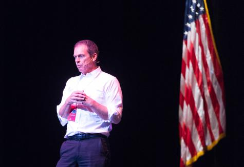 President Kelly said he wants to find a solution for the international students at FAU. Photo by Max Jackson.