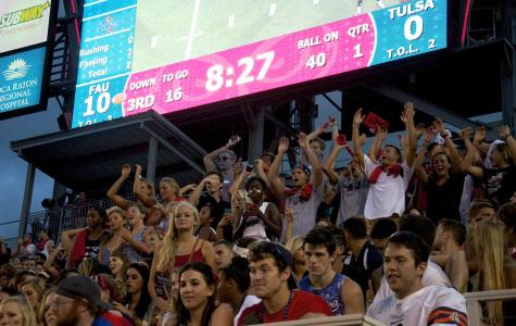 Student Section moved at FAU stadium