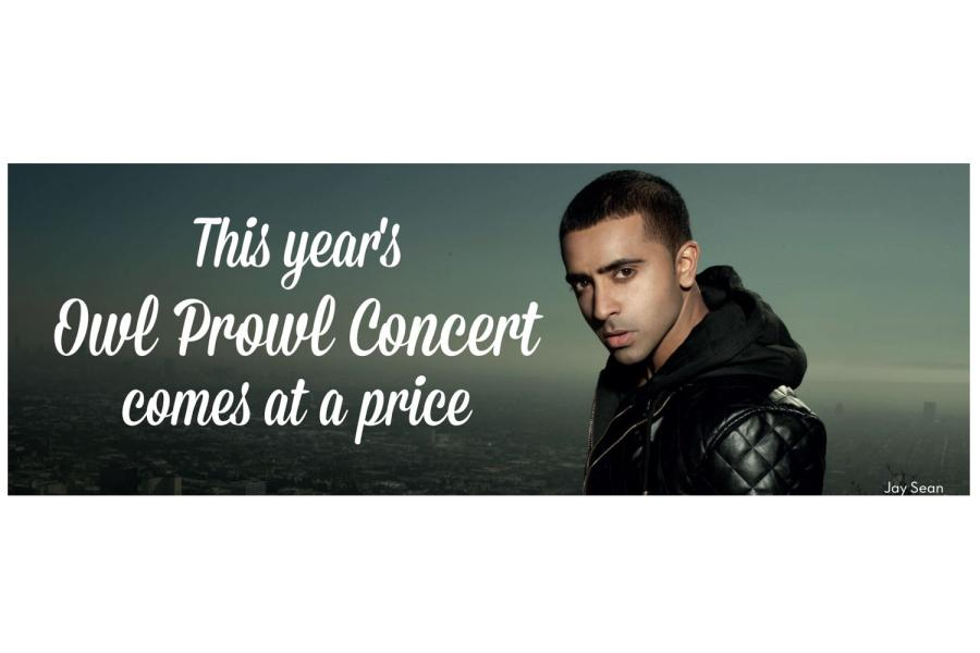 This Years Owl Prowl Concert comes at a price