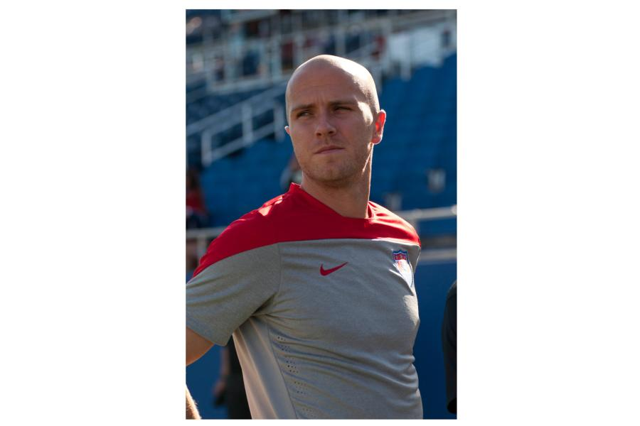 Midfielder+Michael+Bradley+will+play+the+ninety+first+cap+of+his+career+against+Honduras+on+Oct.+14+at+8+pm.+%5BSabrina+Martinez+%7C+Assistant+Creative+Director%5D