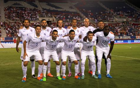 USMNT starting lineup for the Oct.14 match against Honduras. The game ended in a 1-1 tie.