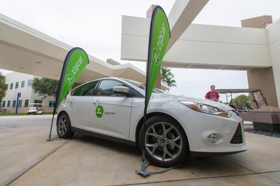 Zipcar Service Coming To Fau Fall 2014 University Press