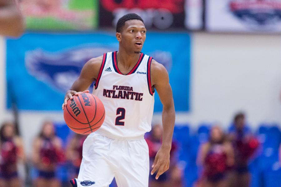 Marquan Botley scored 20 points in the Owls' loss to Georgia on Nov. 17. Photo by Max Jackson