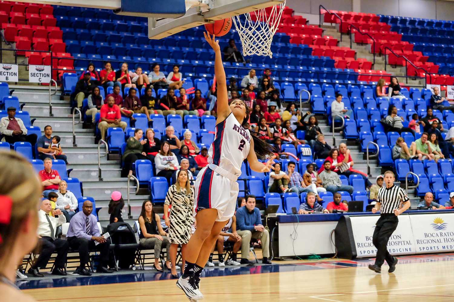 Sophomore guard Shaneese Bailey led FAU with 25 points in their win over FIU on Jan. 24. Photo by Mohammed F. Emran