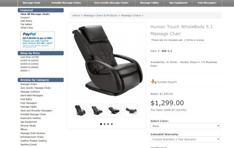 Opinion: Student Government buys $2,598 massage chairs